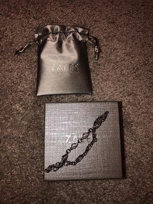 Sales diamond accent bracelet sterling silver for Sale in Scottsdale, AZ