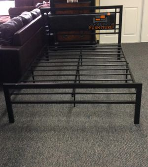 Brand New Full Size Black Metal Platform Bed Frame for Sale in Wheaton, MD