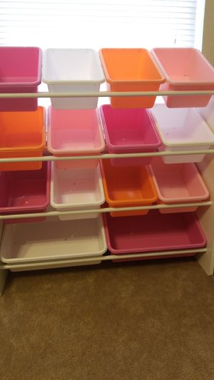Colorful Kids Toy & Storage Bend for Sale in Roanoke, TX