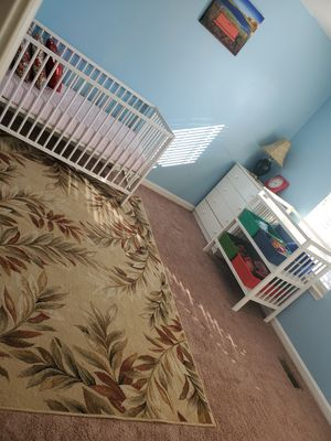Baby bed and changing table for Sale in Bristow, VA