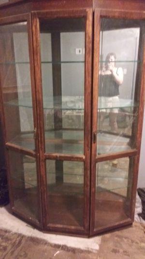 ANTIQUE china cabinent for Sale in Algona, WA