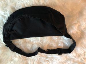 Black Fanny Pack Waist Belt Zip Pouch for Sale in Baton Rouge, LA