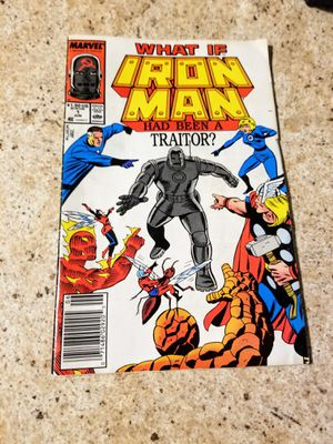 What if Iron Man was a Traitor 1988 Comic Book like June's Online Consignment Shop on Facebook for Sale in Neenah, WI