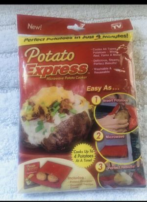 Brand new Hot Potato Microwave pouch for Sale in Lynwood, CA