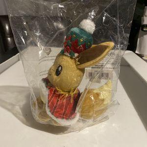 Pokemon Plush Holiday Extravaganza Eevee for Sale in Carpentersville, IL