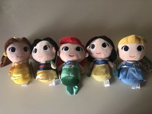 Disney Princess Plushies for Sale in Bloomington, CA