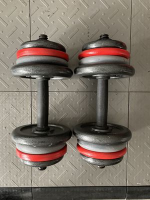 Standard weights dumbbells for Sale in Tampa, FL
