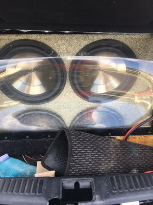 12 in insignia subs came with car don't want them $75.00 for Sale in Evansville, IN