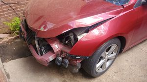 12 Chevy Cruze part[ NO TITLE‼️ whole car tow away can get title when dmv opens. Its still clean title not claimed for Sale in Denver, CO