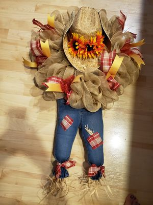 Scarecrow kiddo Wreath's for Sale in Lancaster, OH