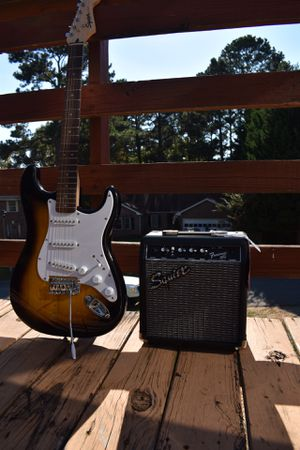 BRAND NEW Squier Affinity Series Stratocaster Bundle for Sale in Lawrenceville, GA