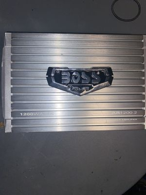 1200 watt Boss amp and 2 15 inch VM Audio Subs for Sale in McClellan Park, CA
