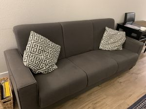 Sleeper sofa - swiger - grey for Sale in San Francisco, CA