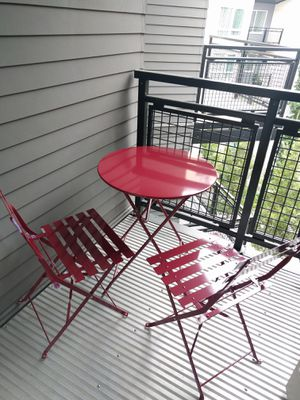 Red patio furniture for Sale in Bellevue, WA