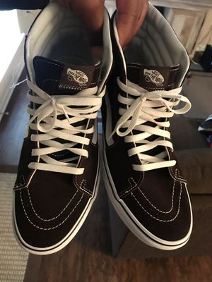 Vans brown and white for Sale in Baton Rouge, LA