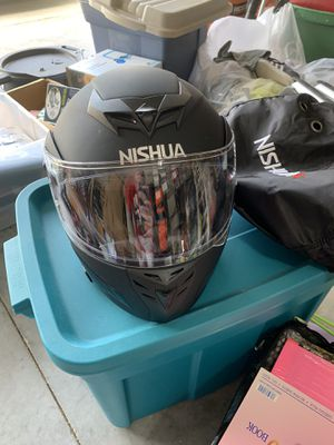 Nishua Modular Motorcycle Helmet (L) for Sale in Clermont, FL