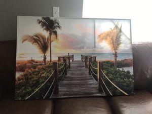 Beach picture art work for Sale in Miramar, FL