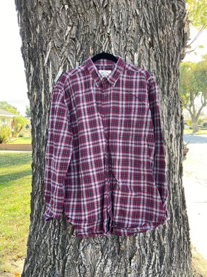 St. John's Bay Men's Long Sleeve Button Down Shirt for Sale in Montclair, CA