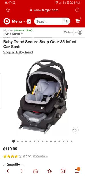 Brand new infant car seat babytrend for Sale in Bakersfield, CA