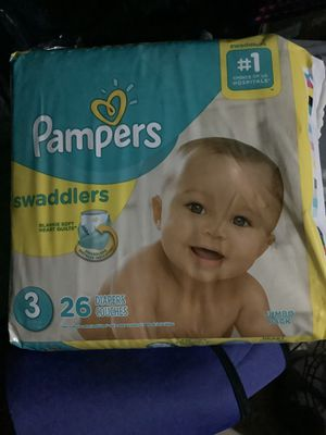 Pampers Swaddlers - Size 3 (26 Count) - New Please don't ask if it's available. If it's posted, it's available for Sale in San Antonio, TX