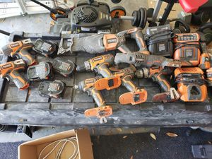 Ridgid tools. for Sale in Myrtle Beach, SC