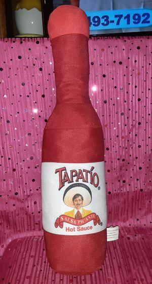 Big Tapatio Hot Sauce Plush for Sale in San Bernardino, CA