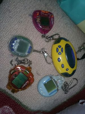 Hand key chain games for Sale in Waterloo, IA