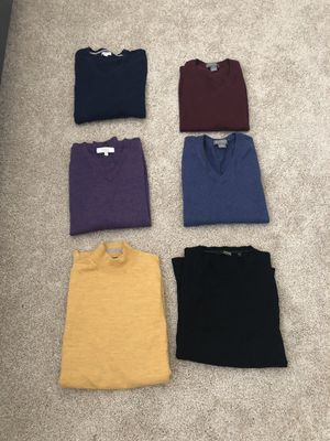 Men's Daniel Cremieux, Turnberry, Murano Extra Fine Merino Wool Sweaters and Vests for Sale in Atlanta, GA