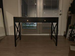 Desk perfect for computer or used as vanity for Sale in Arlington, VA
