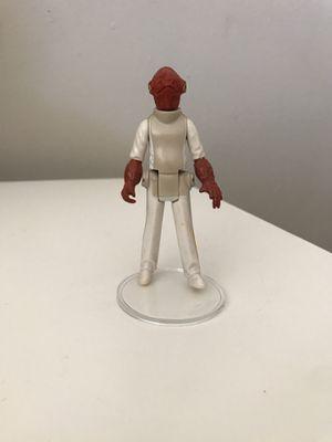 Lot of 2 1980 Star Wars Akbar, and Lobot figures for Sale in Gilbert, AZ