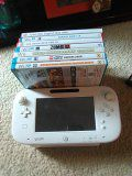 Nintendo Wii u, 7 games and Wii controller, nunchuc and sensor bar for Sale in Manassas, VA