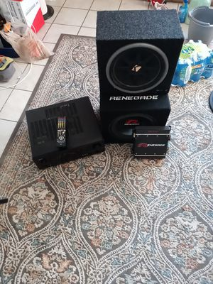 Subwoofer's amplifier and home theater system for Sale in Chandler, AZ
