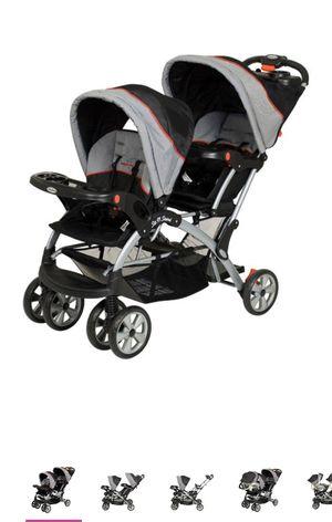 Baby trend double stroller for Sale in Belleville, NJ