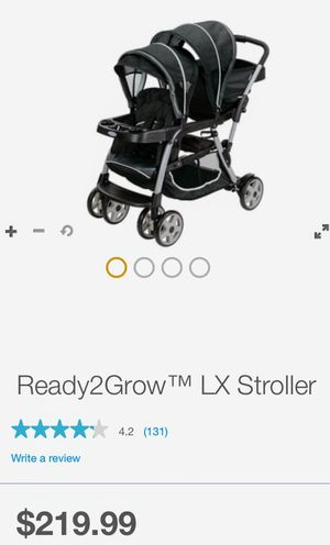 Graco ready to grow xl stroller for Sale in New Britain, CT