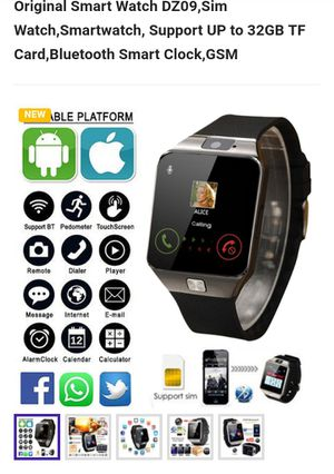 Smart watch for apple or android for Sale in Austin, TX