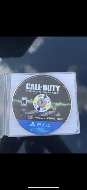 PS4 call of duty for Sale in Perris, CA