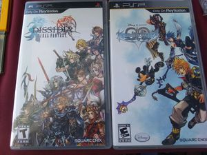Final fantasy and kingdom hearts psp for Sale in Rancho Cordova, CA