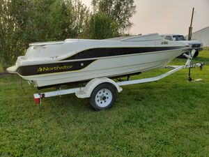 Northstar 17ft Jet Boat Project Clean Title for Sale in Manchester, MI