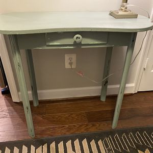 Distressed Look Wood Console Table Sofa Table for Sale in Vienna, VA