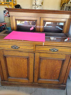 Antique cabinet for Sale in Nuevo, CA