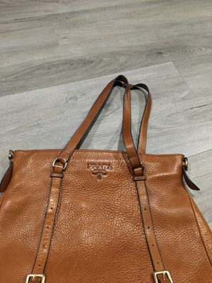 Leather purse Real Prada bag $500 for Sale in Hayward, CA