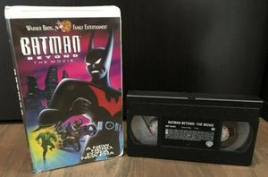 Batman Beyond The Movie VHS Tape With Clamshell for Sale in Winter Garden, FL
