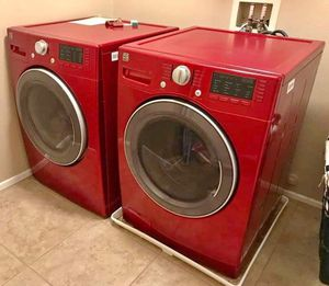 Beautiful 2018 Kenmore steam washer and dryer set for Sale in Corona, CA
