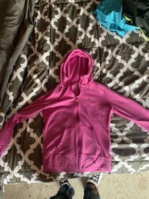 pink nike zip up jacket for Sale in Leander, TX
