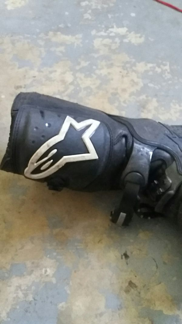Dirtbike riding boots