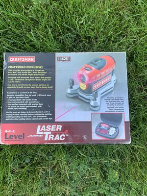 Craftsman Laser Trac for Sale in Victor, NY