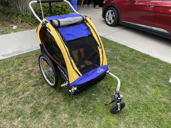 Burley Bee Double Bike Chariot for Sale in Rancho Cucamonga,  CA