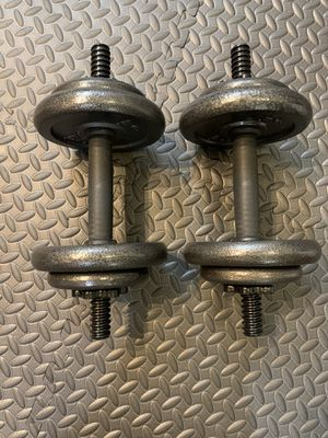 ‼️Brand New‼️20 pound adjustable dumbbell set‼️ for Sale in Miami, FL