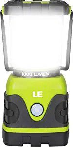 Lighting EVER LE Portable LED Camping Lantern 1000lm Dimmable 4 Light Waterproof. 0518 b53 05 for Sale in OH, US