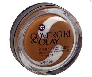 Covergirl + Olay Simply Ageless Foundation in Toasted Almond for Sale in Miramar, FL